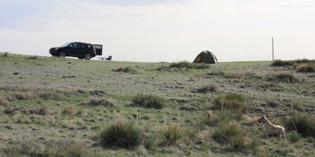 Pawnee National Grassland Dispersed Camping
