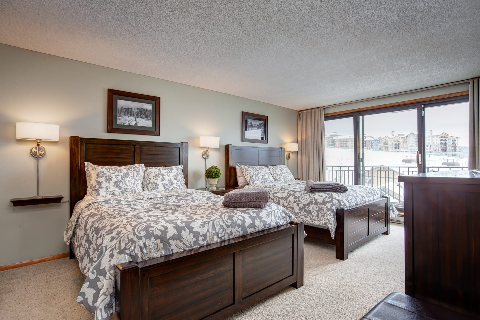 Room at Bronze Tree Condos by Wyndham Vacation Rentals Hotel in Steamboat Springs.