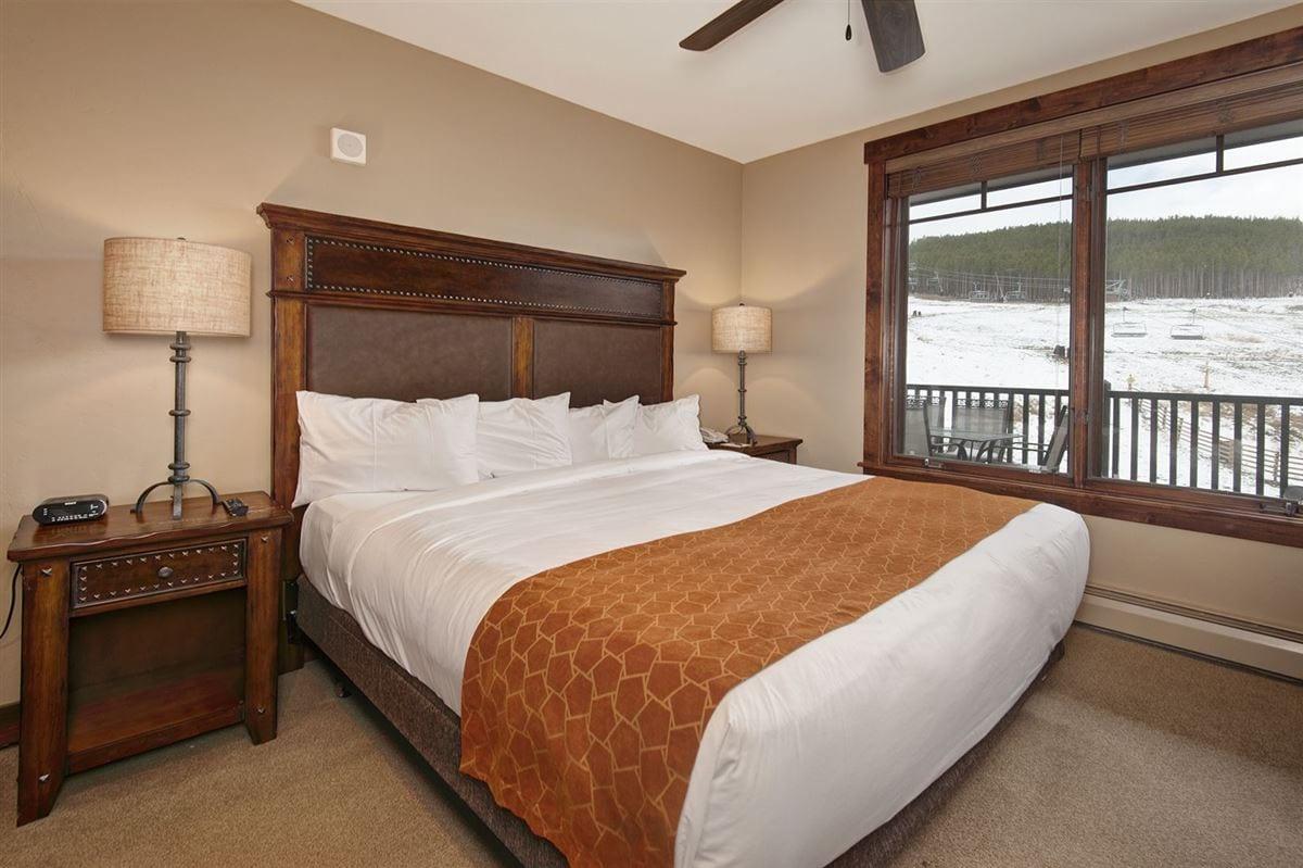 Room at Crystal Peak Lodge.