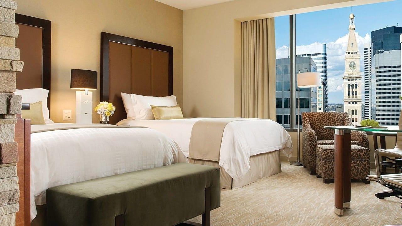 Room at Four Seasons Hotel Denver.