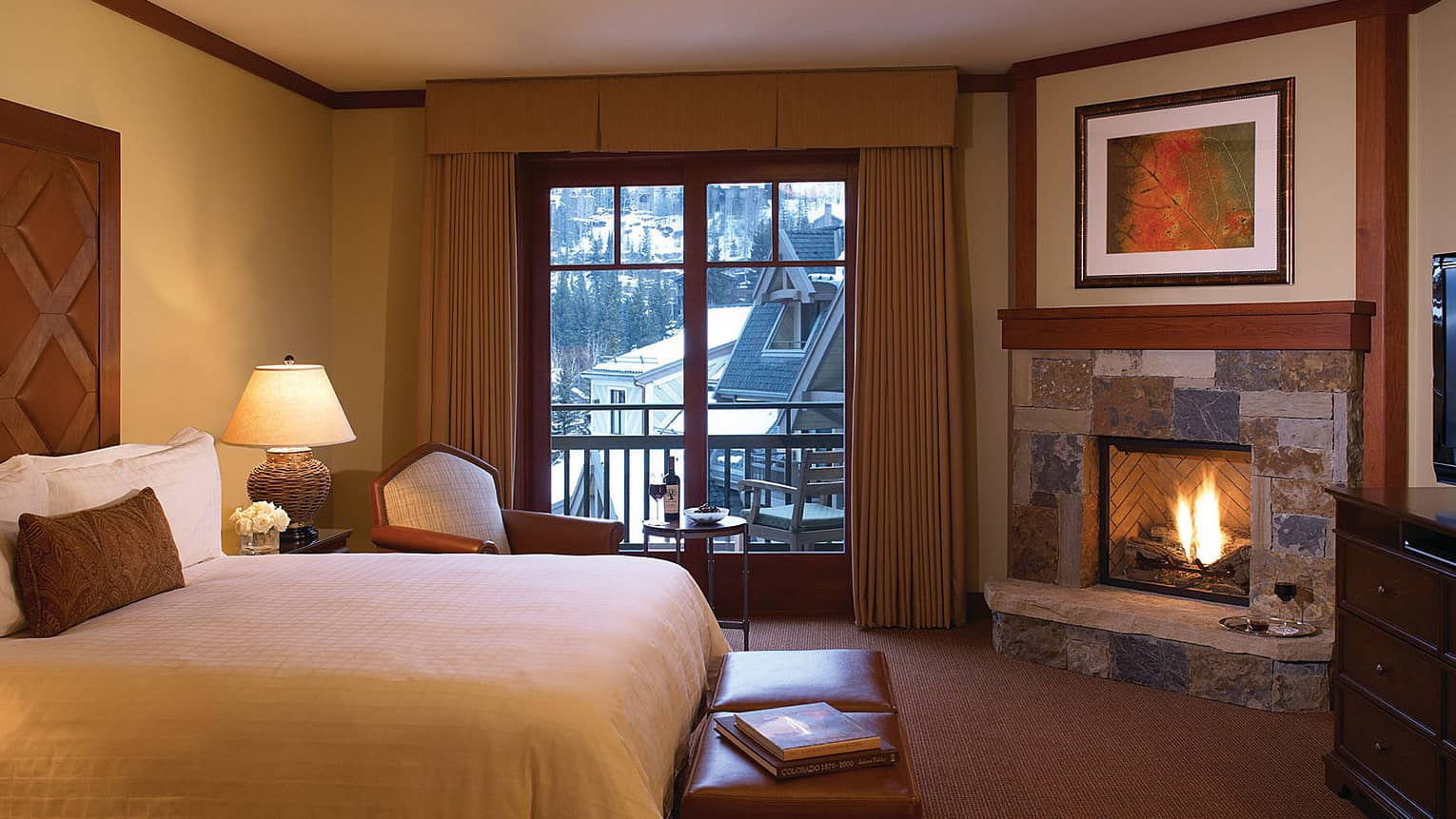 Room at Four Seasons Resort and Residences Vail.