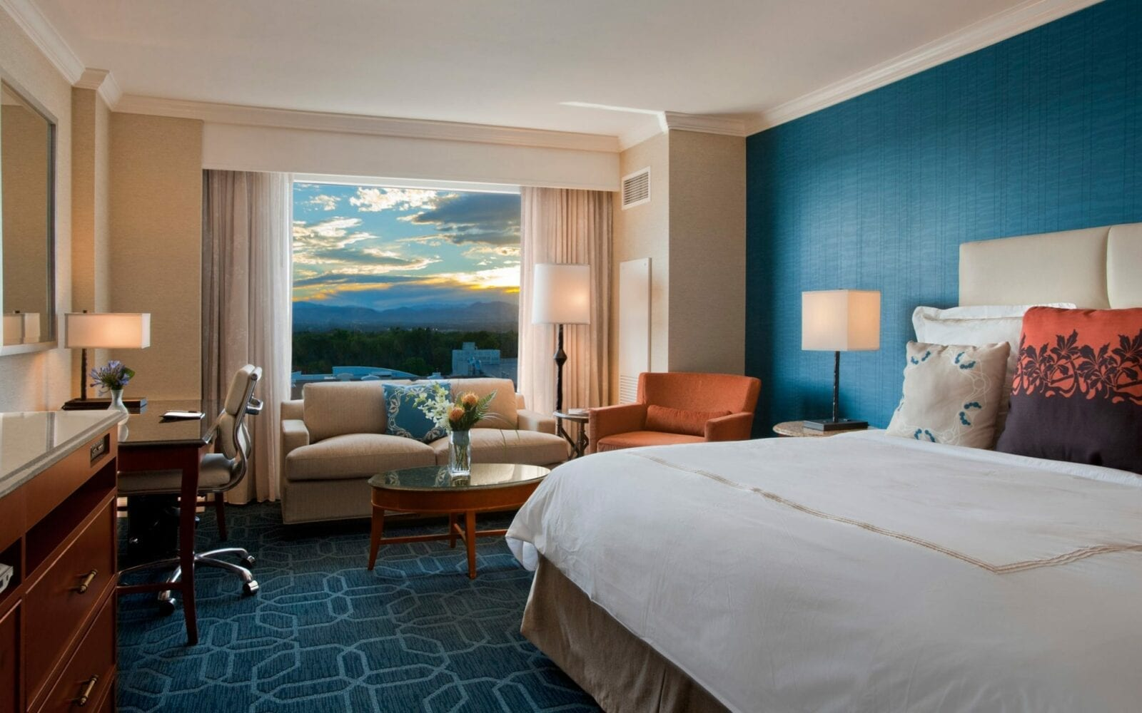 Room at JW Marriott Denver at Cherry Creek .