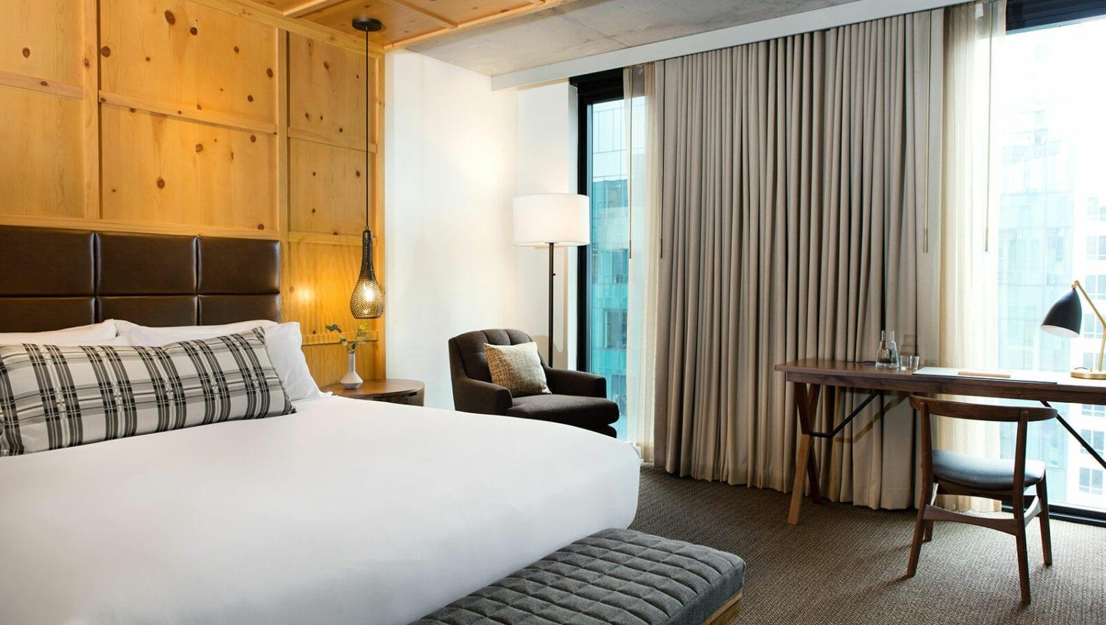 Room at Kimpton Hotel Monaco Denver 4.
