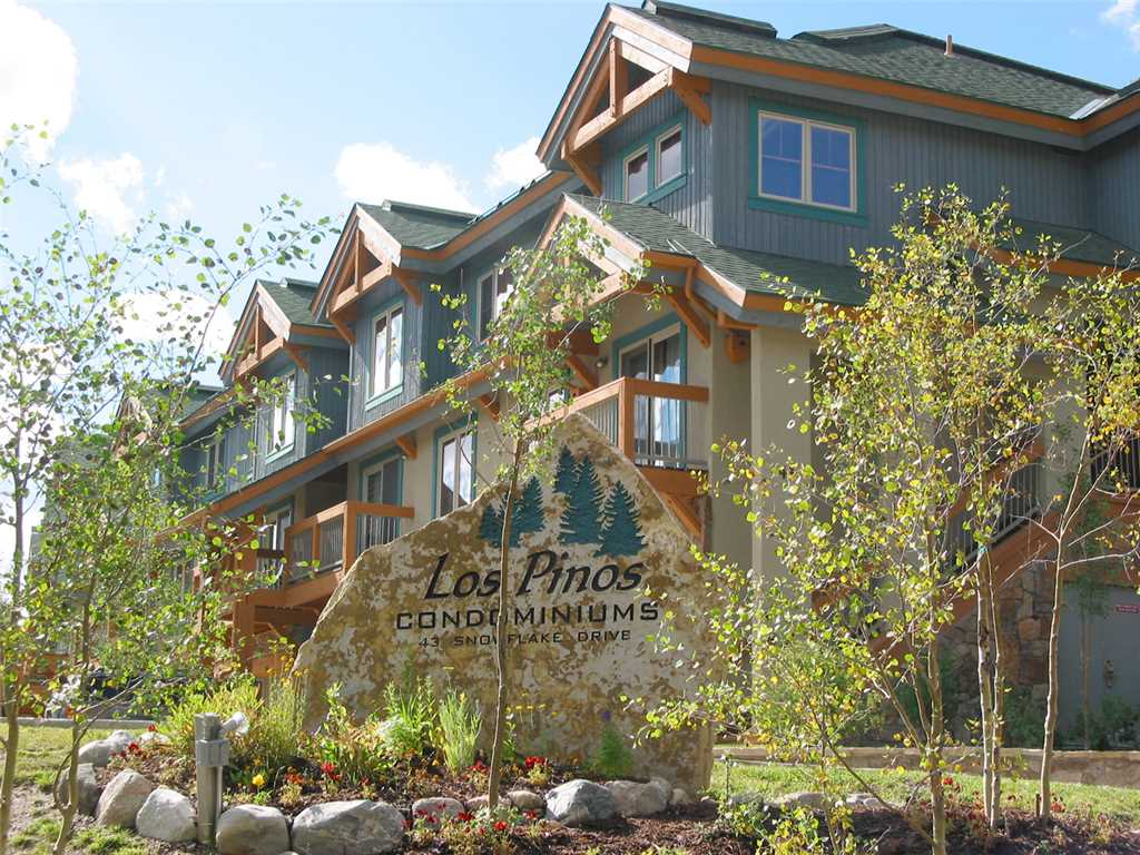 Los Pinos Townhomes Breckenridge Colorado.