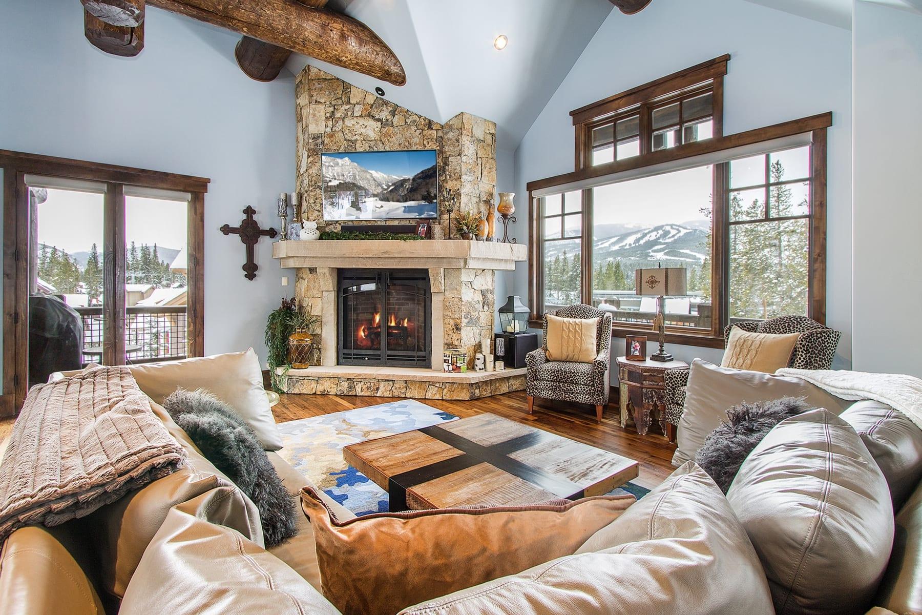Room at Los Pinos Townhomes Breckenridge Colorado.