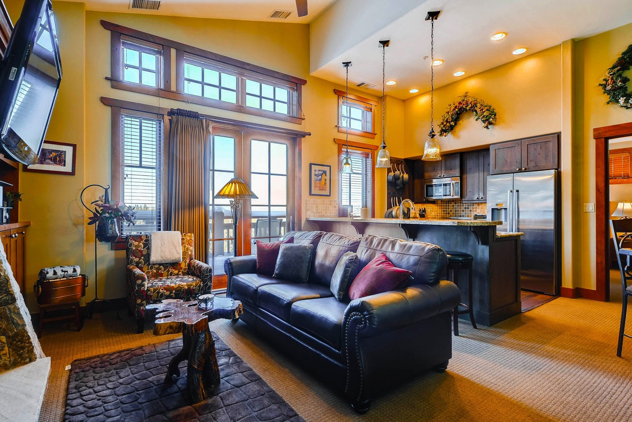 Room at One Ski Hill Place.
