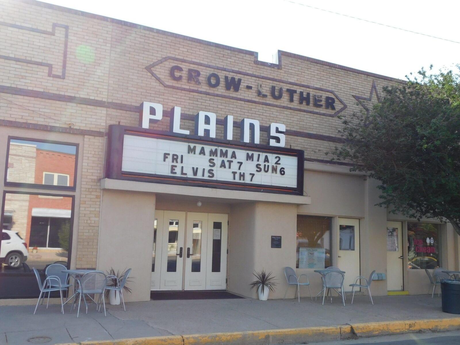image of historic plains theatre