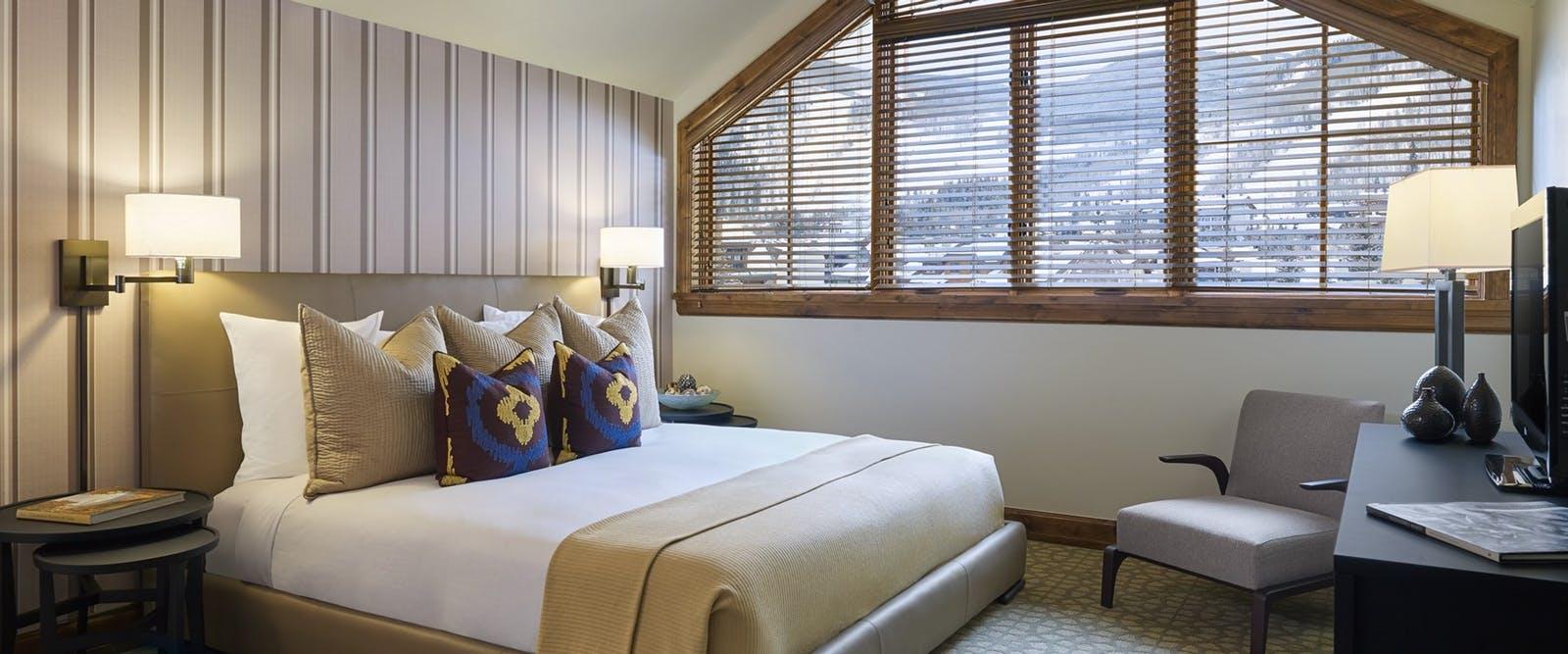 Room at The Sebastian Vail.