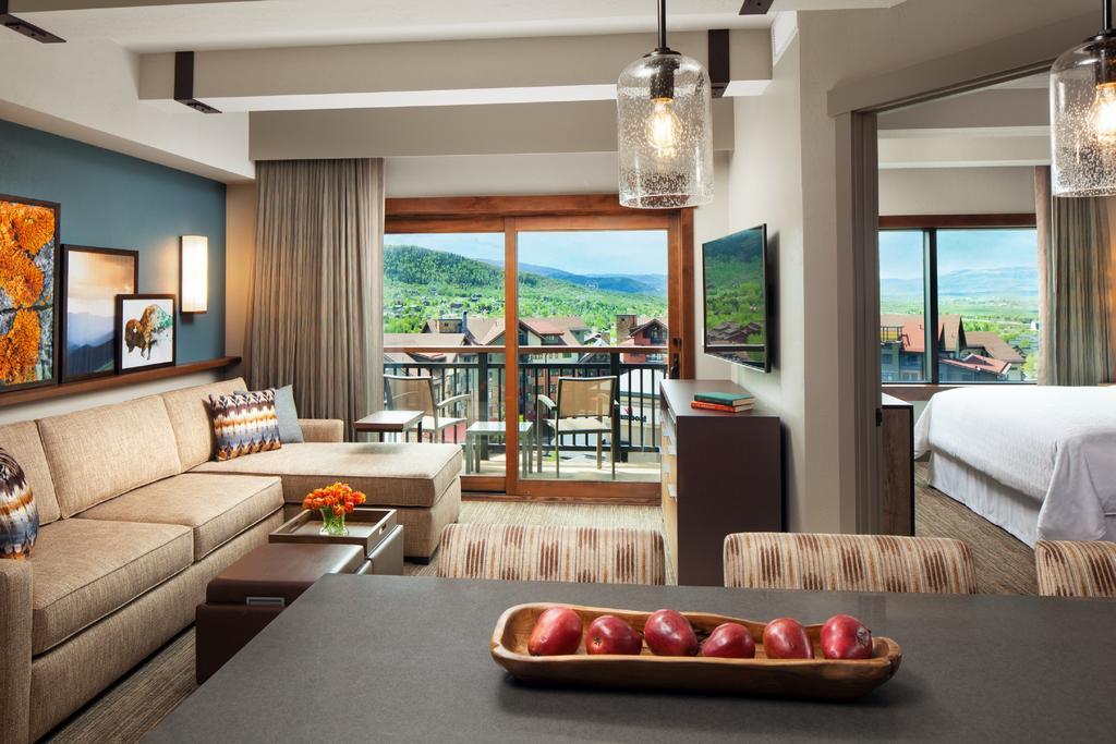 Room at Sheraton Steamboat Resort Villas.
