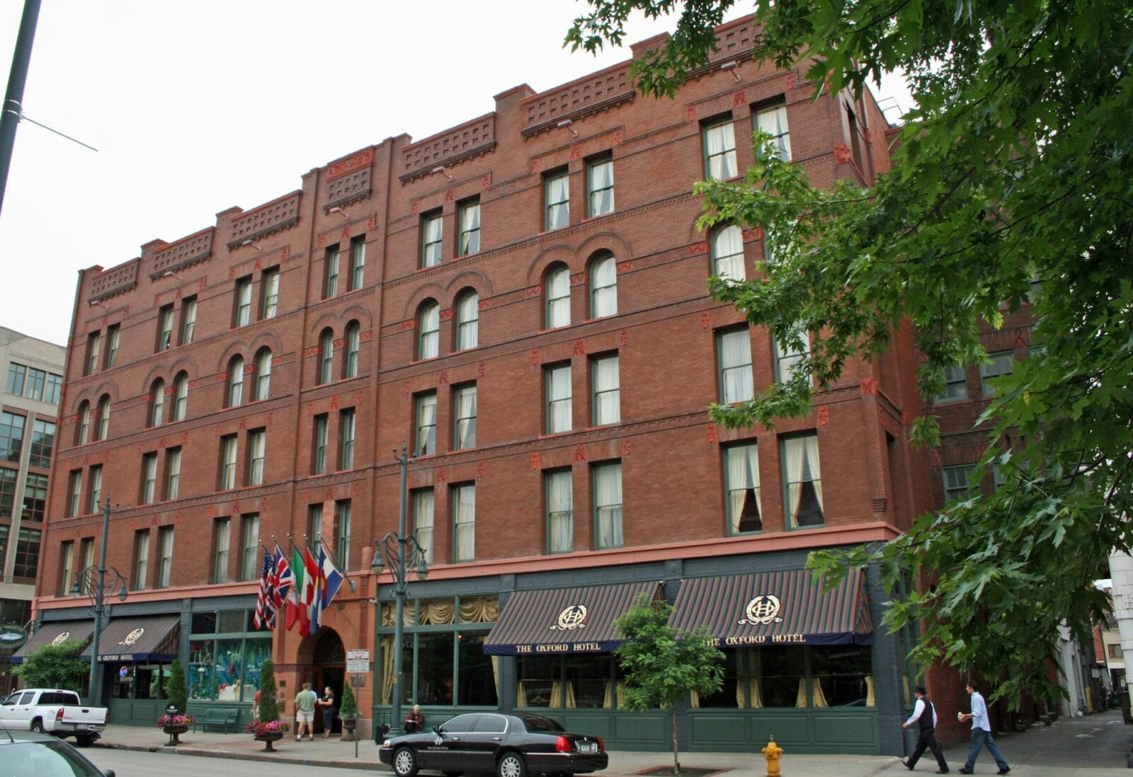 The Oxford Hotel.