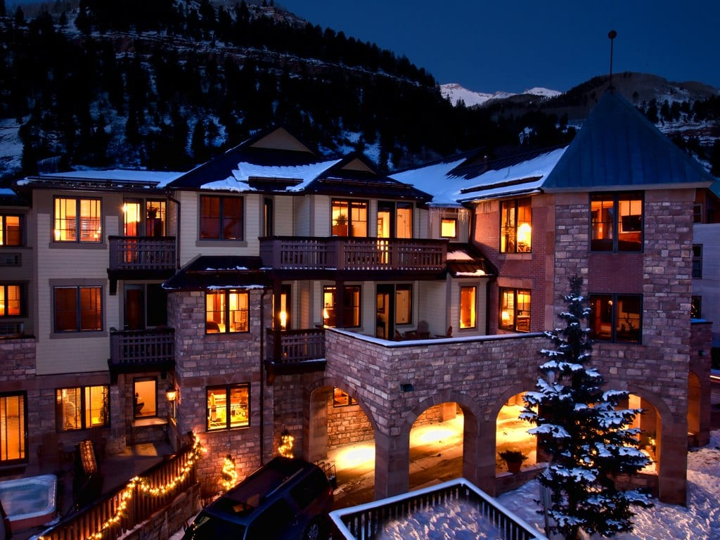 The Hotel Telluride.