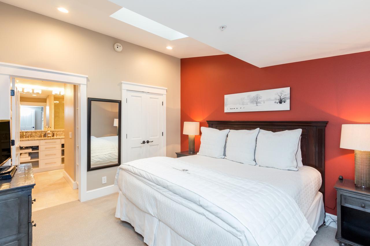 Room at The River Club Condos.