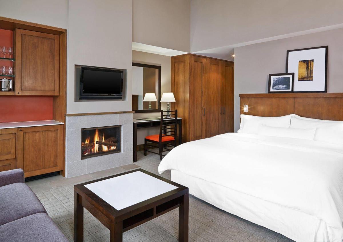 Room at The Westin Riverfront Resort at Beaver Creek.