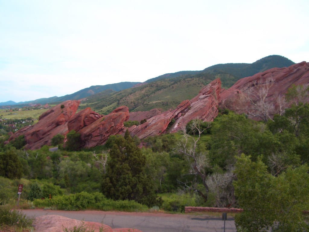 image of trading post trail at Red Rocks