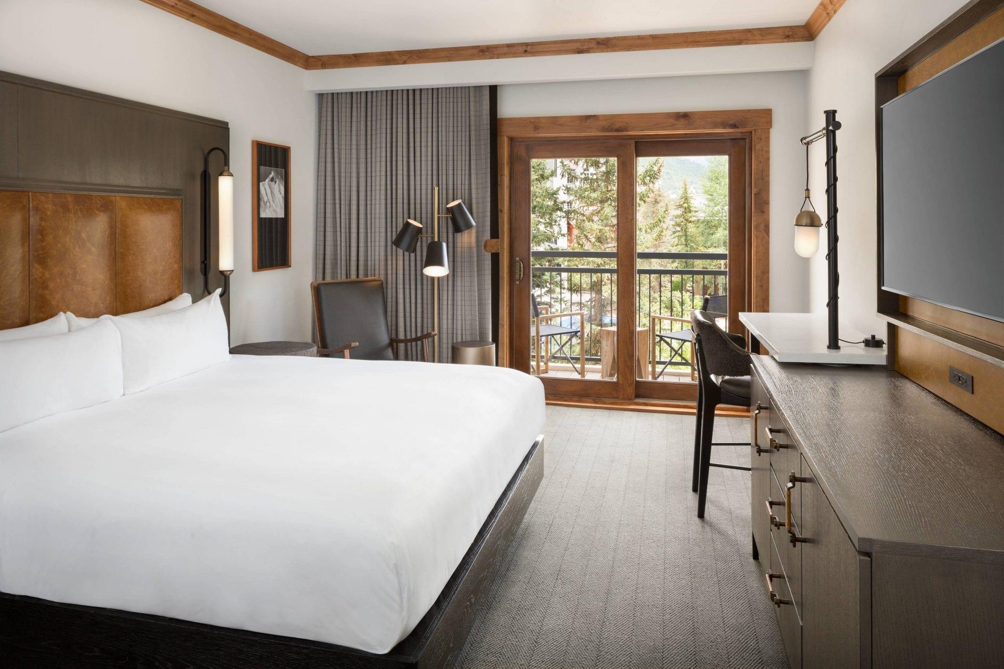 Room at Vail Marriott Mountain Resort.