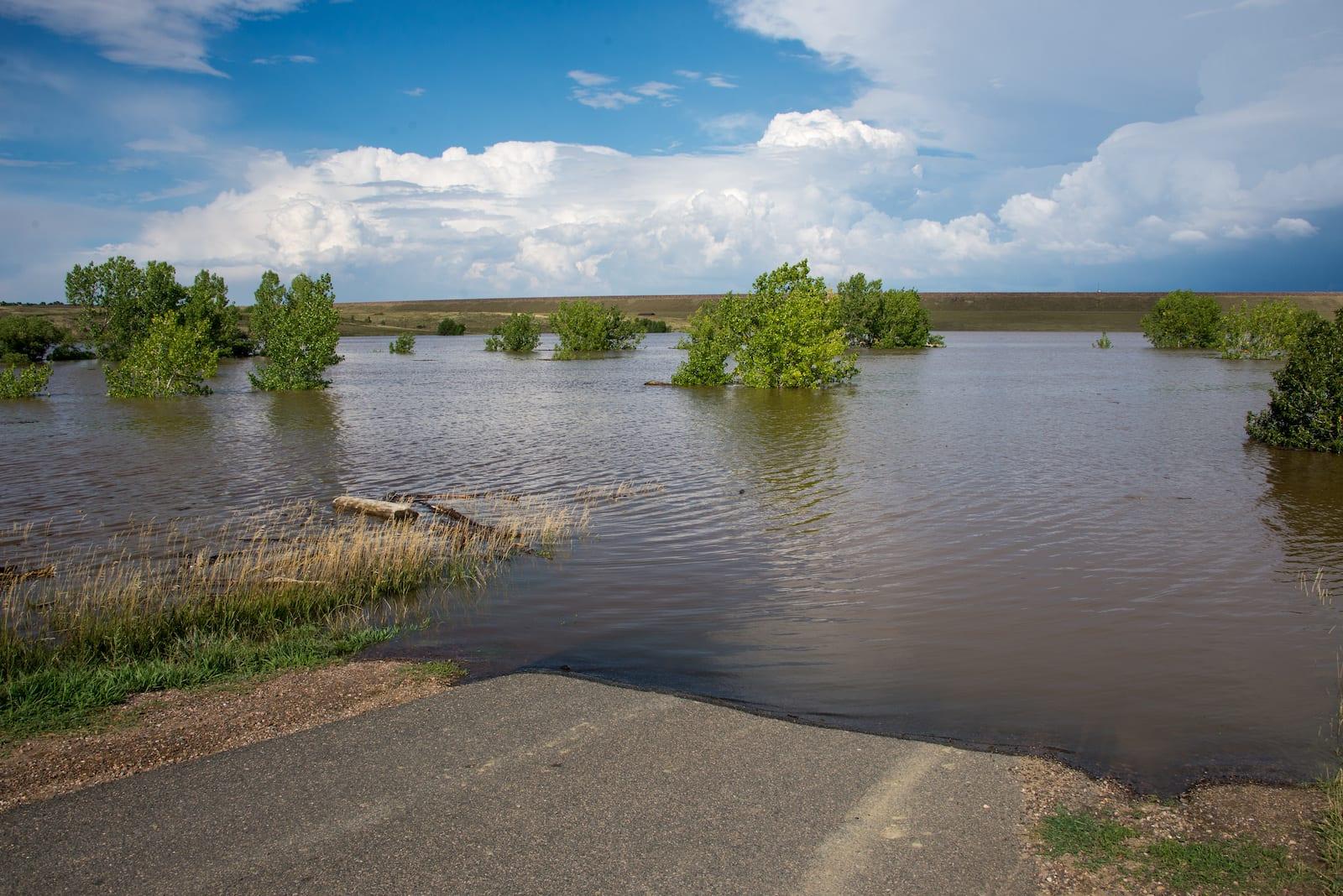 Bear Creek Lake Flooding Colorado