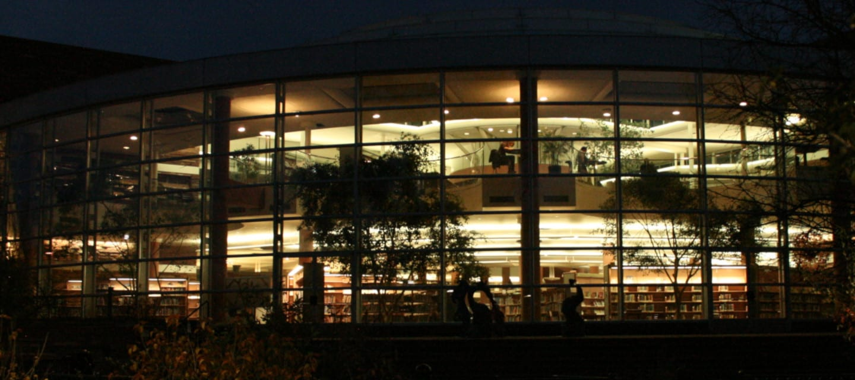 Boulder Public Library Main Branch Night