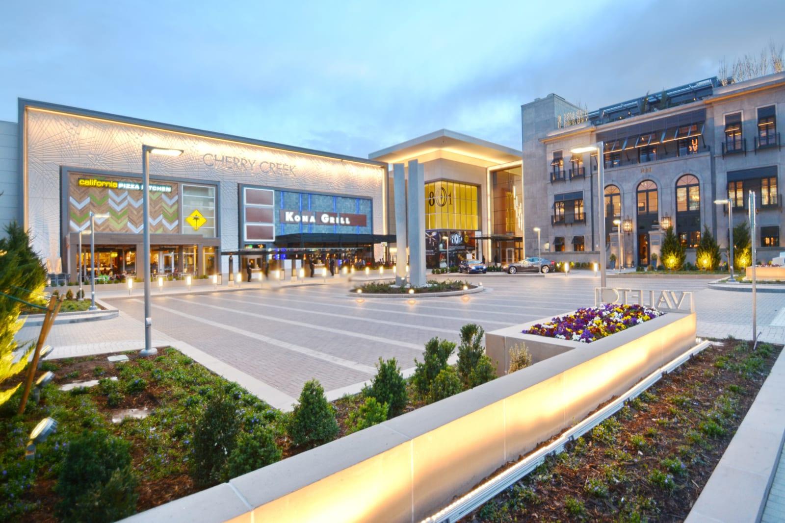 Cherry Creek Mall Denver CO Exterior