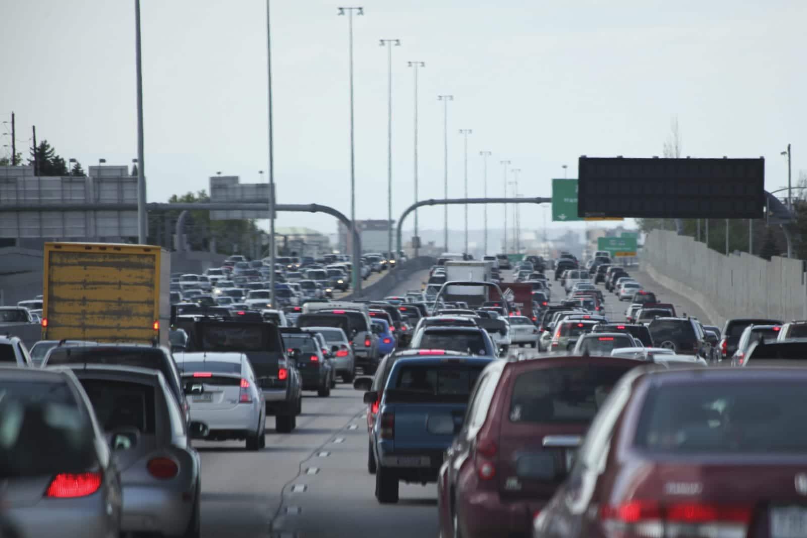 Denver Colorado Traffic I-25 Mental Health