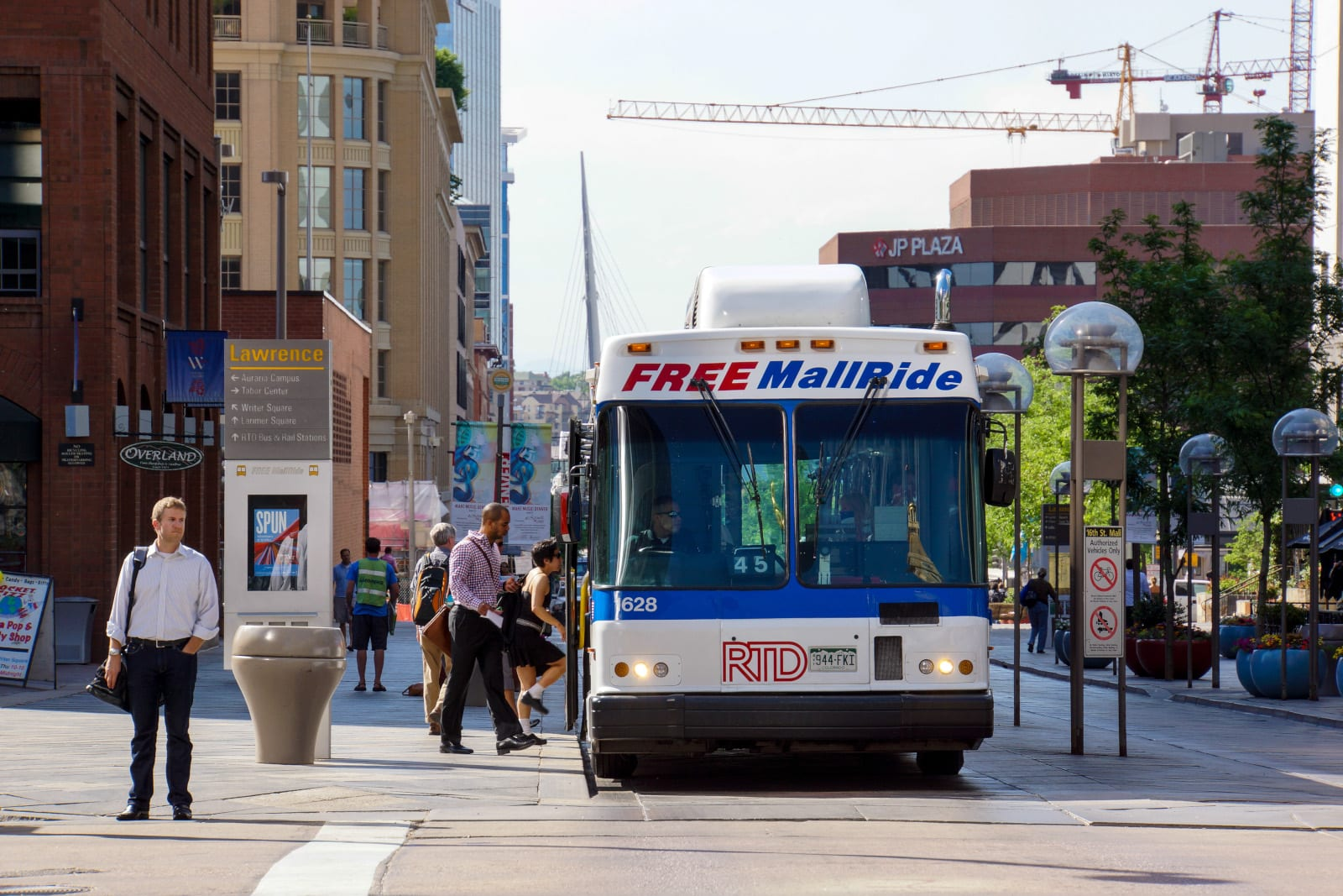 16th Street Mall Free RTD Bus Ride