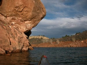 Kayaking Fort Collins Horsetooth Reservoir