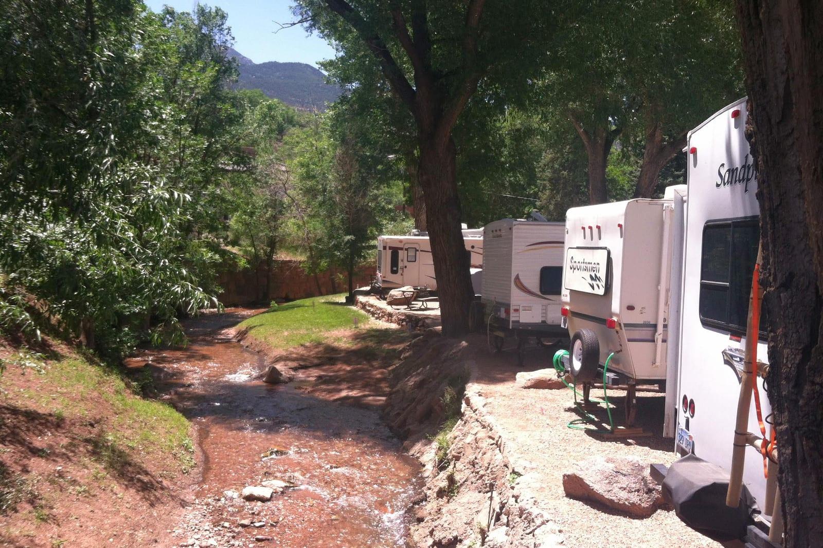 Pikes Peak Coffee >> Tent & RV Camping around Colorado Springs Area | Top ...
