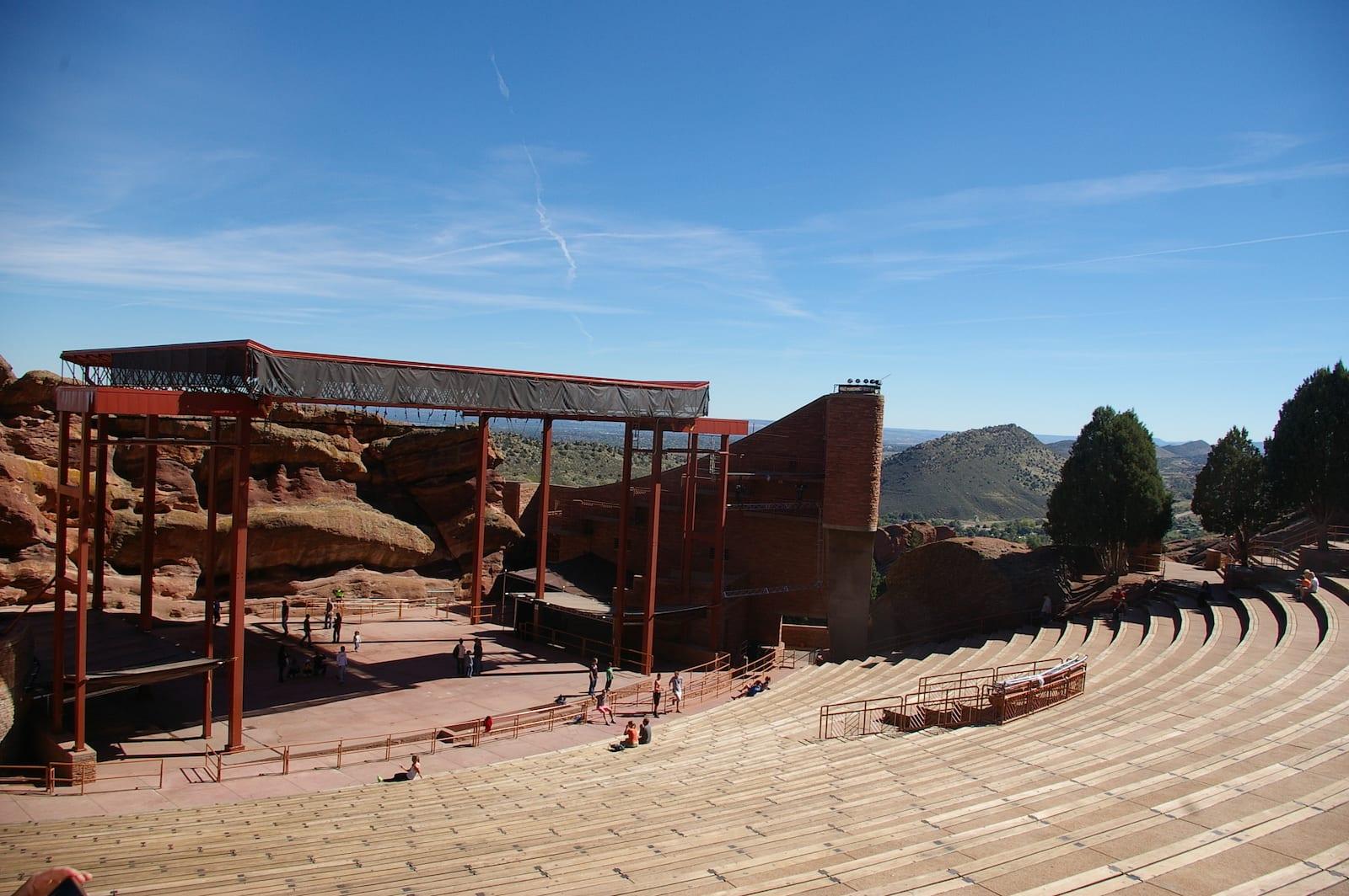 Red Rocks Park CO Amphitheater