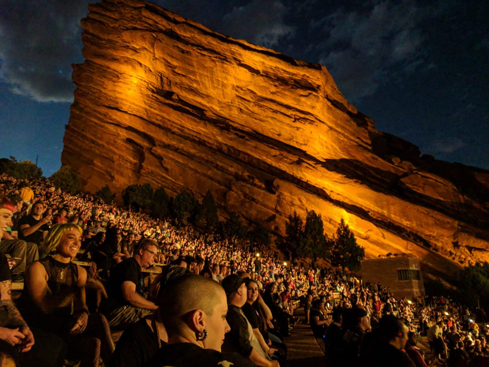 Unique Denver Experience Red Rocks Park Concert