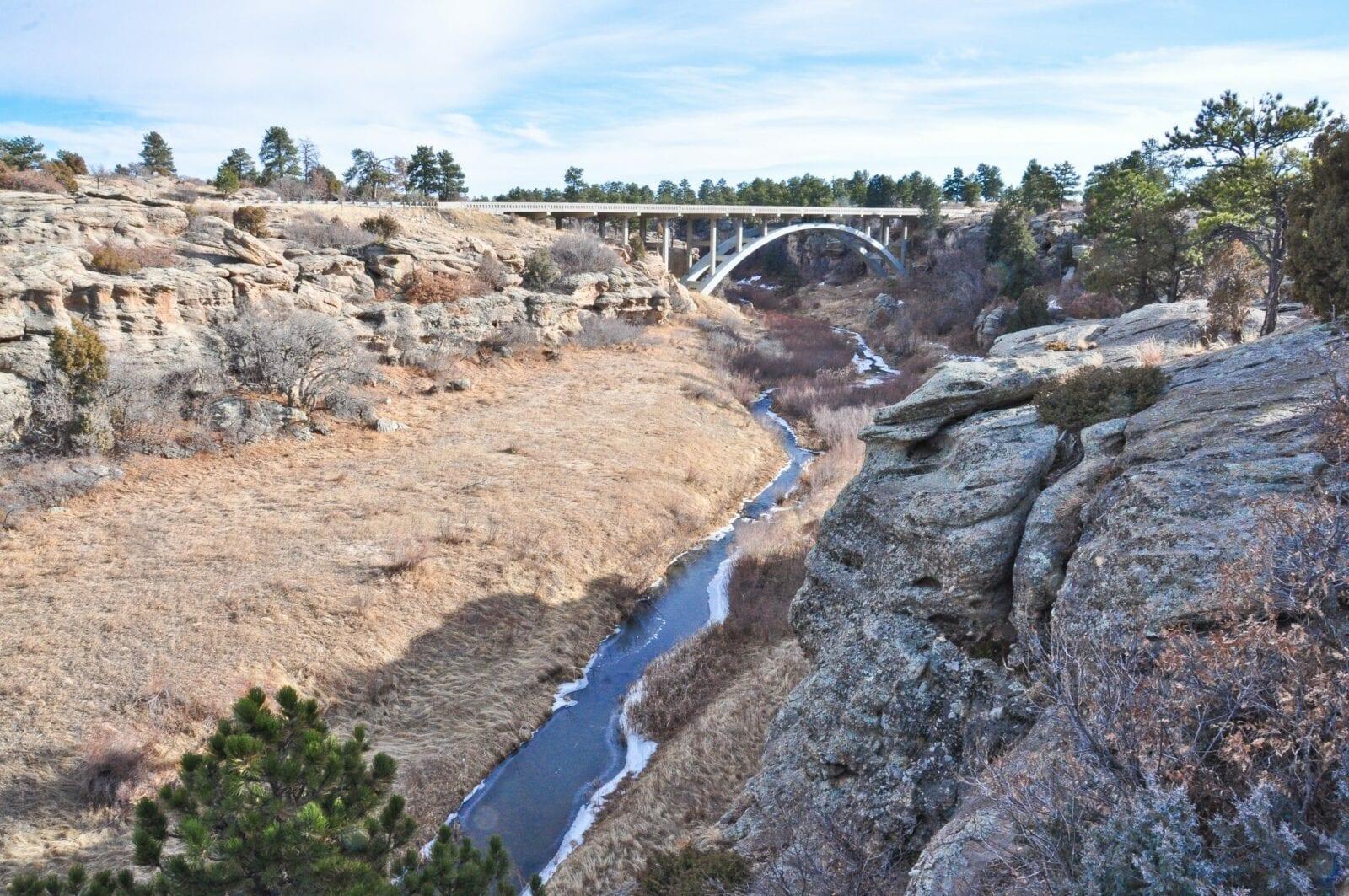 Bridge over Cherry Creek