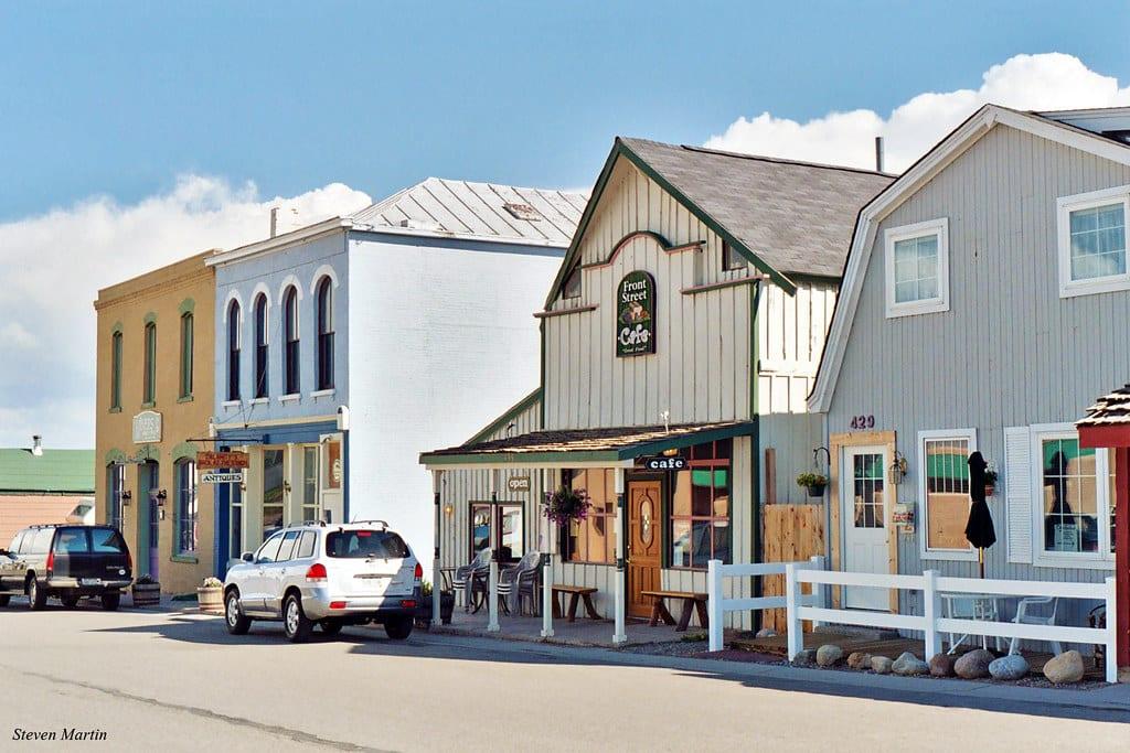 image of downtown Fairplay Colorado