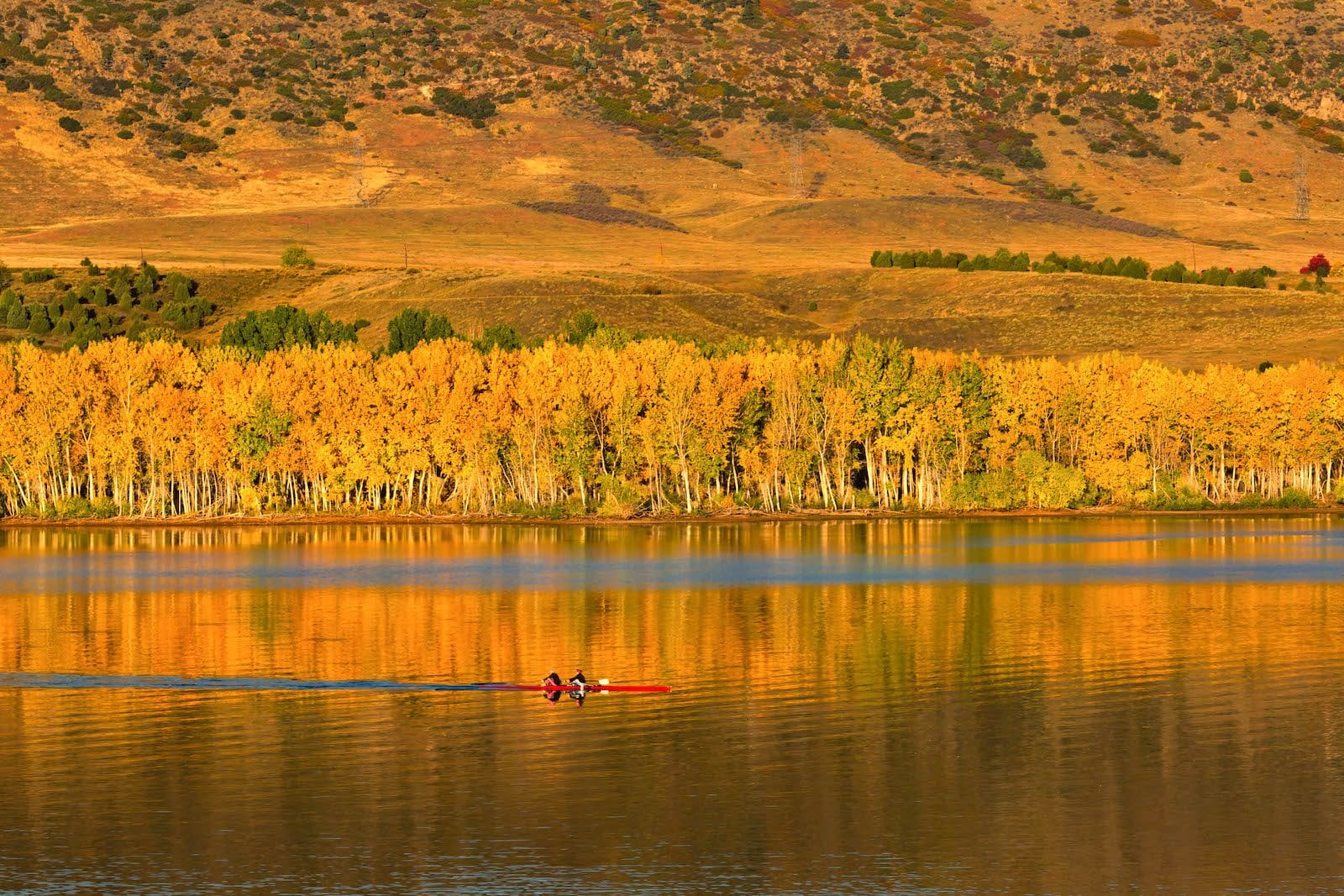 Morning Row Chatfield State Park