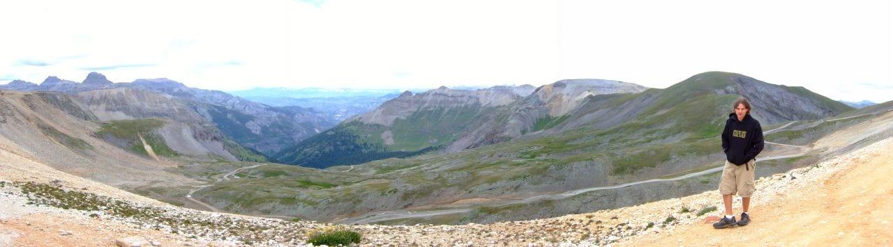 North side of Imogene Pass