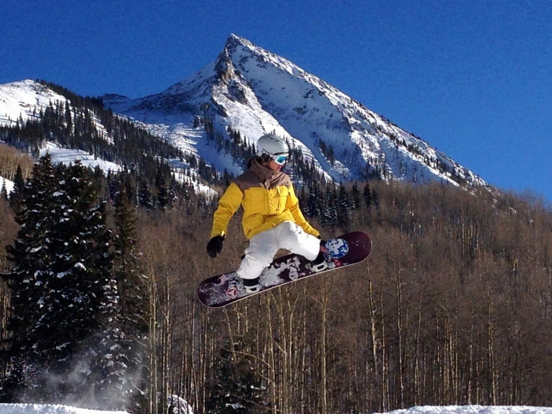 Snowboarding Crested Butte Mountain Resort