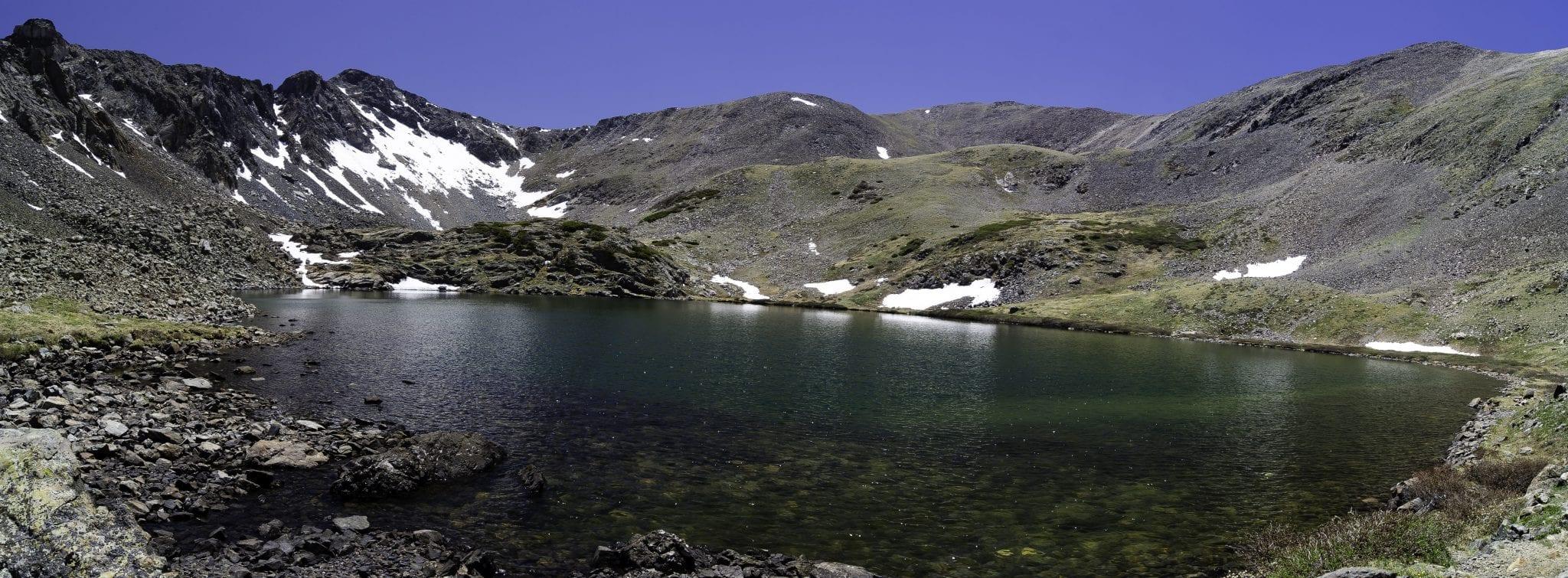 Stout Lake in the Sangre de Cristo Wilderness
