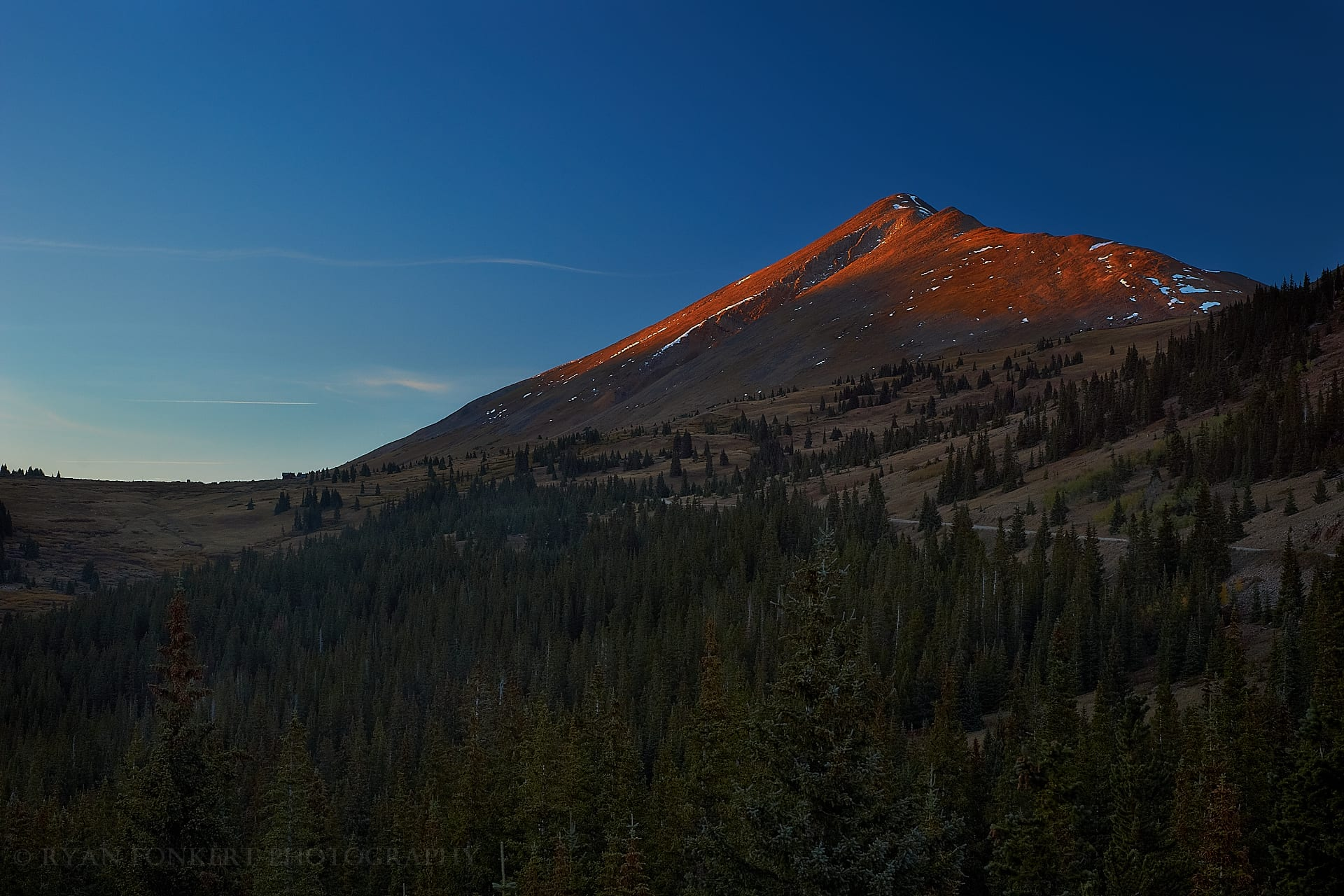 Sunset on Bald Mountain (Color)