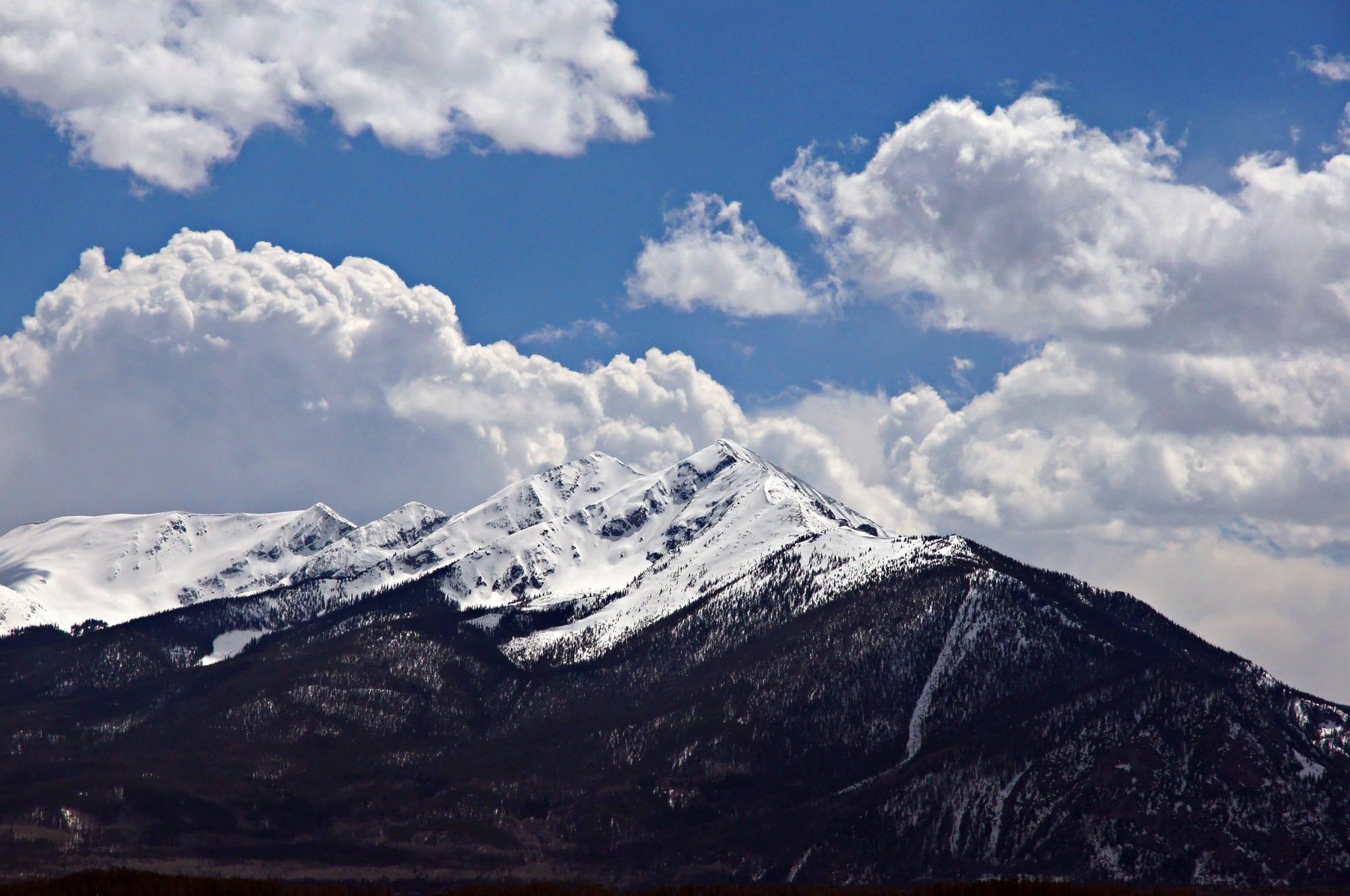 Tenmile Range From Lake Dillon
