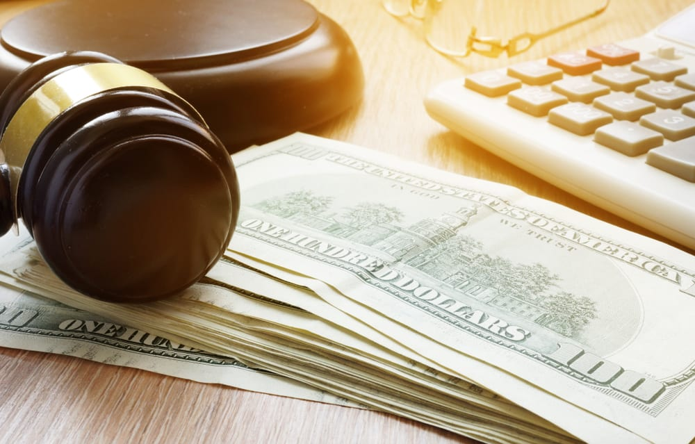 Bail Bonds Cash Gavel