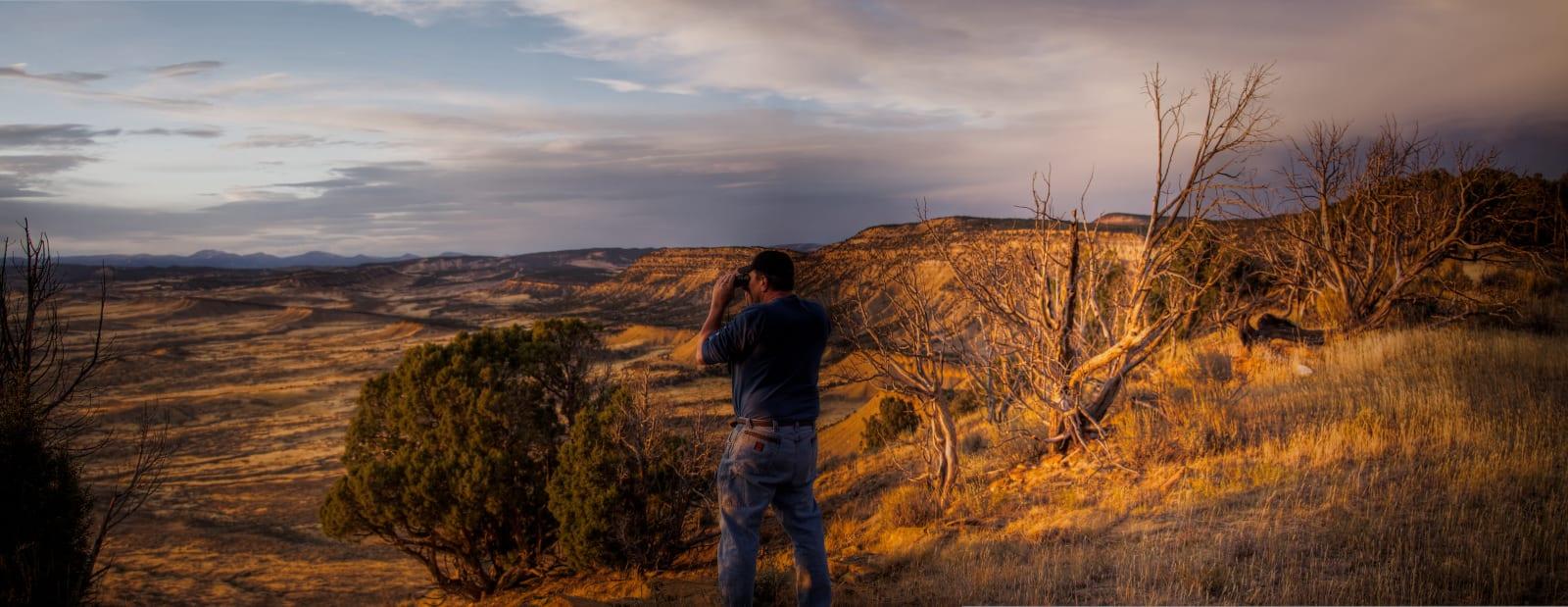 Big Game Hunting Scouting Pinyon Overlook Meeker Colorado