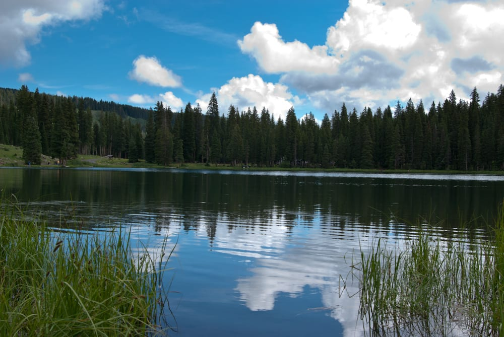 Cobbett Lake Grand Mesa National Forest Colorado