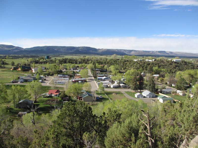 Collbran Colorado Overlook