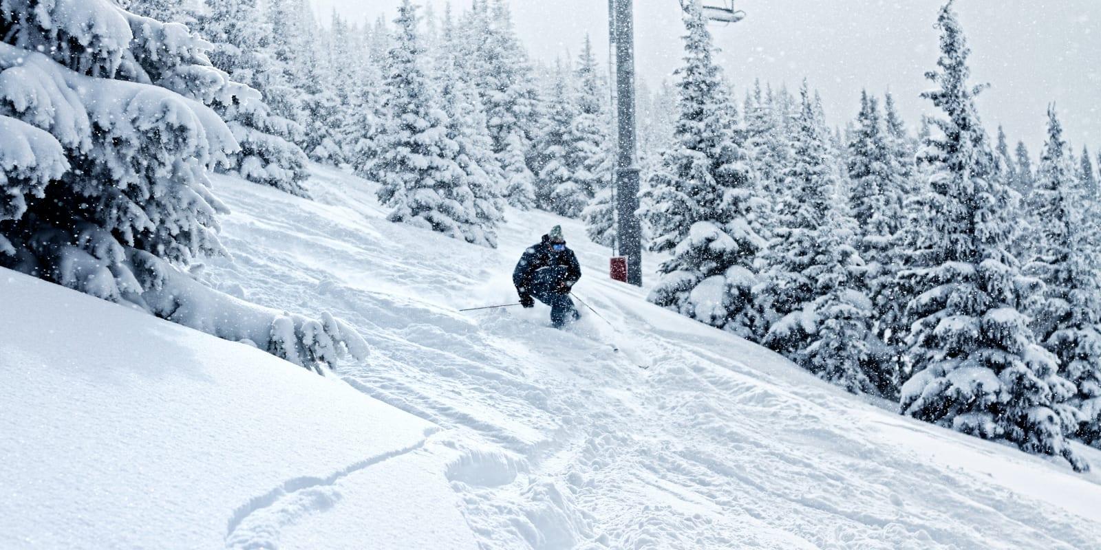 Colorado Ski Resorts Vail Powder Day