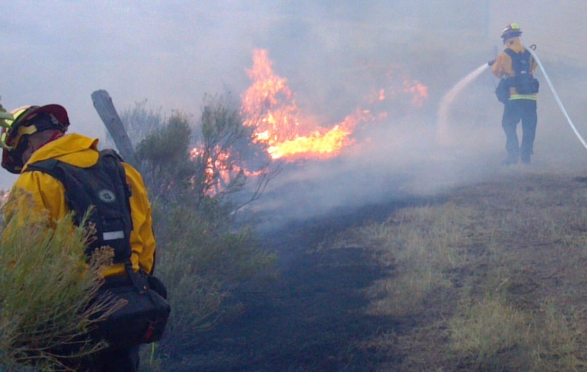 Colorado Wildfires High Park Fire Fort Collins Firefighters