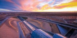 DIA Conspiracy Theories Art Shadow Array Denver Airport Transit Center