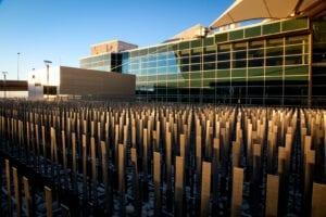 Field of Air by Ned Kahn Denver International Airport Conspiracy Theories