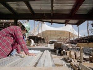 Denver International Airport Construction Workers