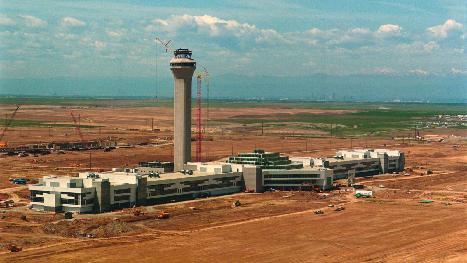 Building Denver International Airport Construction