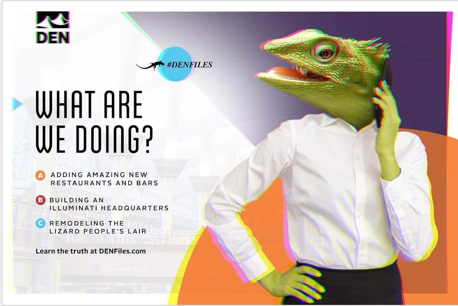 DIA Conspiracy Theories Lizard People