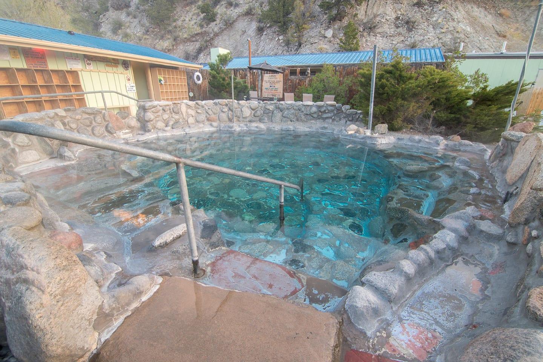 Cottonwood Hot Springs Buena Vista CO Pool
