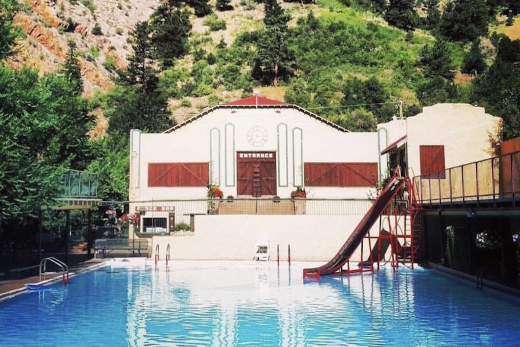 Eldorado Springs Swimming Pool Colorado