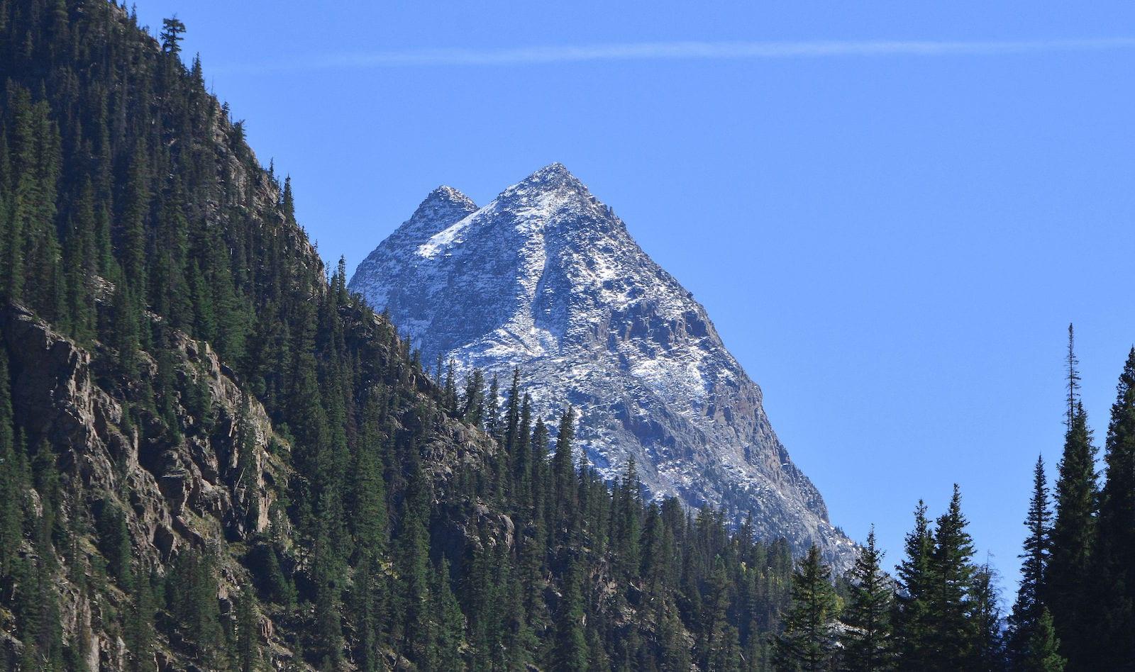 Famous Colorado Mountains Pyramid Peak